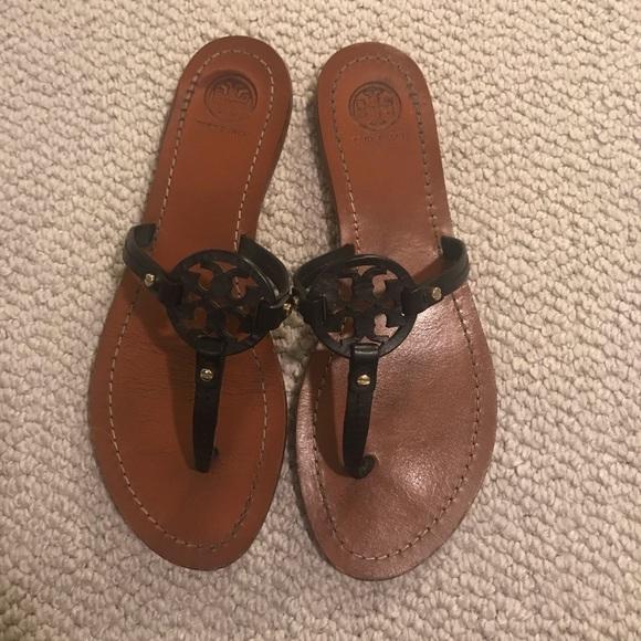 614d2a85cd0144 ... Miller Leather Thong Sandals. M 5c79a39c3c9844e2384242f4